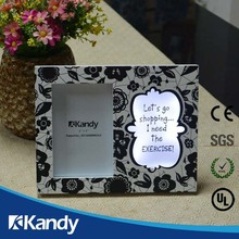 Customized package popular design & cheapest price soft pvc photo frame made in China