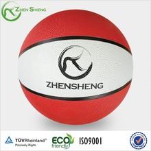 Zhensheng Simple Designed Rubber Basketballs Rubber Balls