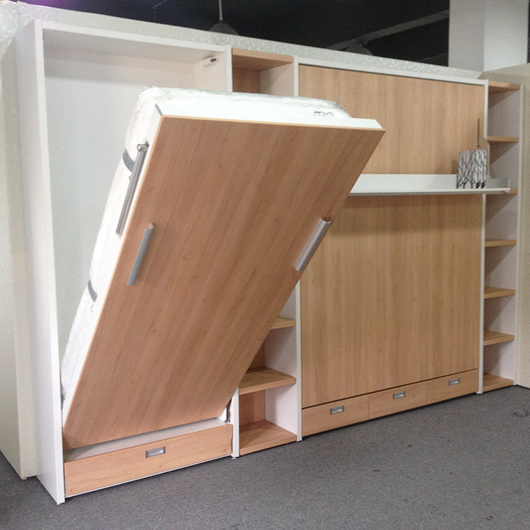 Folding Wall Bed For Kids.High Quality Wall Bed With Study Table 5