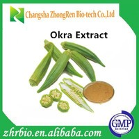 GMP Factory Supply Okra Extract 10:1