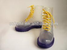 New style fashion soft rubber rain boots
