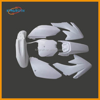 Fairings Kit Plastics Set Body CRF 70 CRF70 125cc 140cc 150cc Dirt Pit Bike White color