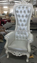 2013 new style wooden classical throne chair