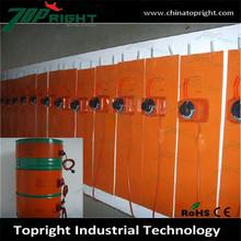 2000w flexible silicone rubber oil drum heater