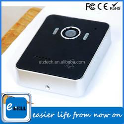 2015 ATZ Doorbell Plastic Cover Wireless Wide Angle IP Camera Wireless Doorbell Home Depot