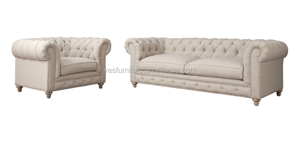Ss65 good quality hotel cheap 3 seaters chesterfield sofa for Cheap and good quality furniture