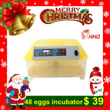 Hot sale full automatic mini egg incubator/chicken egg incubator for 48 eggs YZ8-48