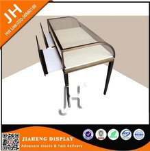 High end unique fashional wood body acrylic jewelry display case