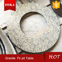 granite outdoor bbq fire pit table