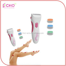 Battery Operated Lady Shaver and Pedicure Callous Remover for Foot Care