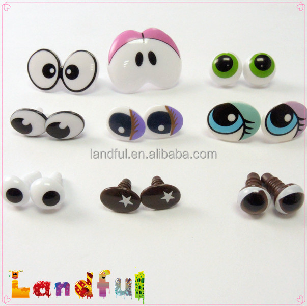 Safety Eyes Amigurumi Australia : Toy Safety Oval Printed Eyes Comic Eyes Animal Eyes for ...