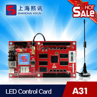 led control card for led car sign, display scrolling message, wireless remote control
