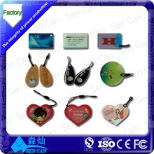 Access control system and payment ISO14443A PVC NFC Tag from Shanghai