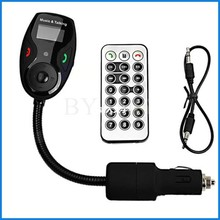 2015 New Hot Selling Wireless Bluetooth FM Transmitter Handsfree Car Kit Bluetooth with retail package