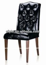 color de madera de las piernas de metal muebles restaurante utiliza sillas de comedor