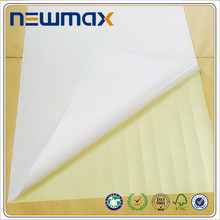 White Blank Printing Self Adhesive Sticker Paper Material