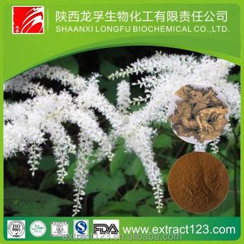 Top grade Black Cohosh P.E. 2.5~5% Triterpene glycosides