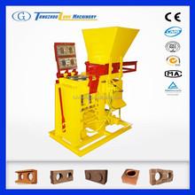 ECO BRAVA PLUS mini brick plant / coal ash brick making machine / concrete interlocking bricks making machine