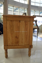 antique purly handmade wooden&carved nightstand with drawers in 2015 latest design
