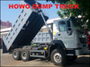 2015 Hot sale the best price HOWO dump truck loading capacity for sale