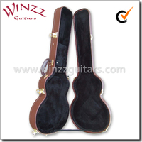 [WINZZ] Wholesale Hard Wood Les Paul Guitar Case (CLG420)