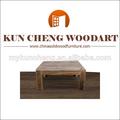 móveis para sala e tipo de mesa de madeira maciça de uso específico do cubo de madeira ninho de mesa