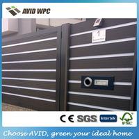 wood plastic composite garden fencing/wpc garden fencing