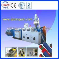 PVC, PE,PA single wall corrugated pipe production line