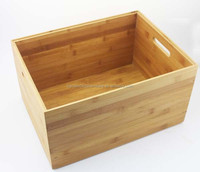 most popular and natural kitchen storage bamboo box
