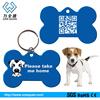 Factory supply personalized custom shape glitter blank dog pet id tag