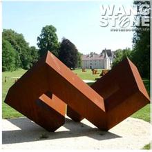 Large Metal Garden Corten Steel Sculpture for Decoration
