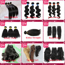 Brazilian/Peruvian Virgin Human Hair (Grade 5A and 6A) - 8 in to 30in