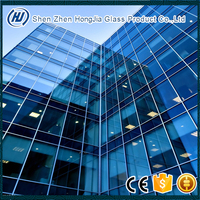 3-25mm EN CE BS ISO certified high quality curved heat soak toughened tempered glass for building