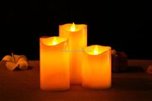 3 pcs Flameless Battery Led Wax Candle Light