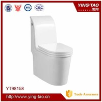 Structural durability one piece toilet wc ceramic ablution unit toilet