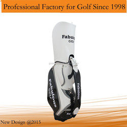 2015 New Unique Top Quality PU Leather Golf Bag