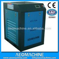 Super works! 8 bar AC power refrigerator air compressor scrap /CE/ISO9001 screw air compressor prices