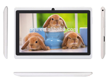 7 inch Q8 A33 Dual Core Tablet 512MB/4GB or 8GB Android Tablet PC Dual Camera WIFI