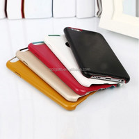 5.5inch anti-shock soft Luxury Leather mobile phone for iphone 6 case