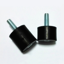 Rubber Damper, Engine parts,Compressor buffer, Internal and external thread, Damper M10-M16