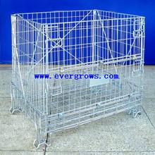 Heavy duty mesh storage bin for wine storage