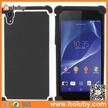 Anti Slide Football Pattern Detachable Silicone+PC Case for Sony Xperia Z2 L50W D6502 D6503