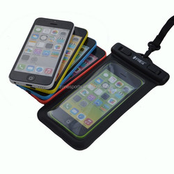 High quality waterproof bag for iPhone 5/5s,colorful waterproof bag for cell phone