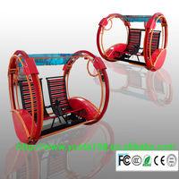 electric kiddie rides/travelling car happy Go Kart/happy tour kart