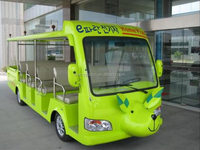 Animal shaped 6.3KW motor 19 passengers electric shuttle bus/tourist bus for sale