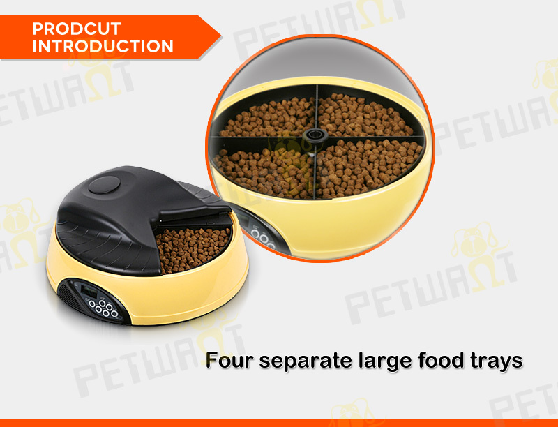 Dog food dispenser Automatic Pet Feeder