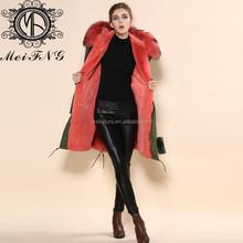 Genuine Farm Ostrich Feather Fur jacket, Fur coat, Fashion Outerwear