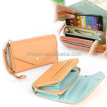 Women's Hot Multifunction Women Wallet Wallets Coin Case Purse For iphone/Galaxy iphone 4/5