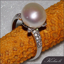 Fancy design 925 silver ring base for wedding decoration