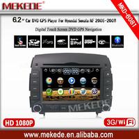 3G HOST+WIFI+car dvd for Fit Hyundai SONATA NF YU XIANG 2006 to 2012 2013 2014 2015 Car DVD Player GPS TV 3G Radio